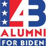 43 Alumni for Biden logo