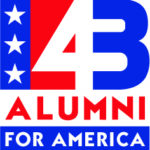 43 Alumni for America logo